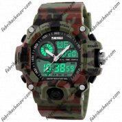 Часы Skmei 1029 green camouflag