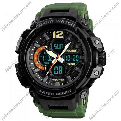 Часы Skmei 1343 army green
