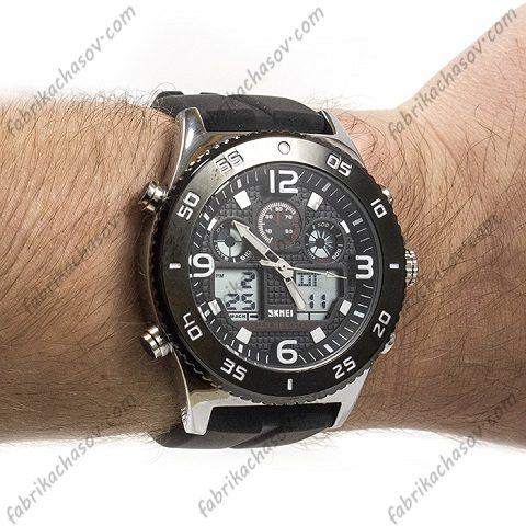 Часы Skmei 1538 silver silica