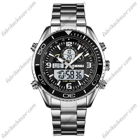 Часы Skmei 1600 silver-black