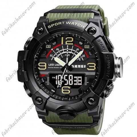 Часы Skmei 1619 army green