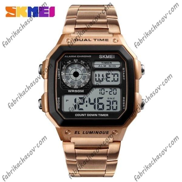 Часы Skmei 1335 Бронзовые