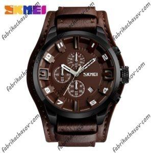 Часы Skmei 9165 Коричневые