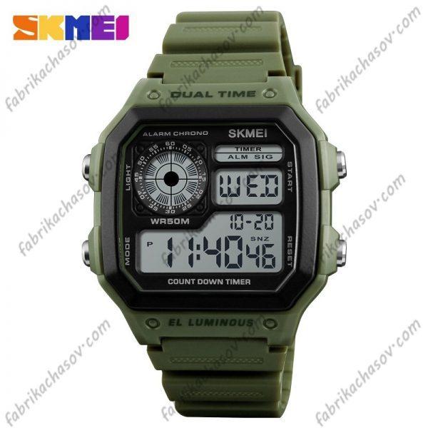Часы Skmei 1299 Зеленые