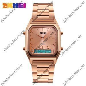 Часы Skmei 1220 Золотистые