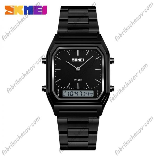 Часы Skmei 1220 Черные