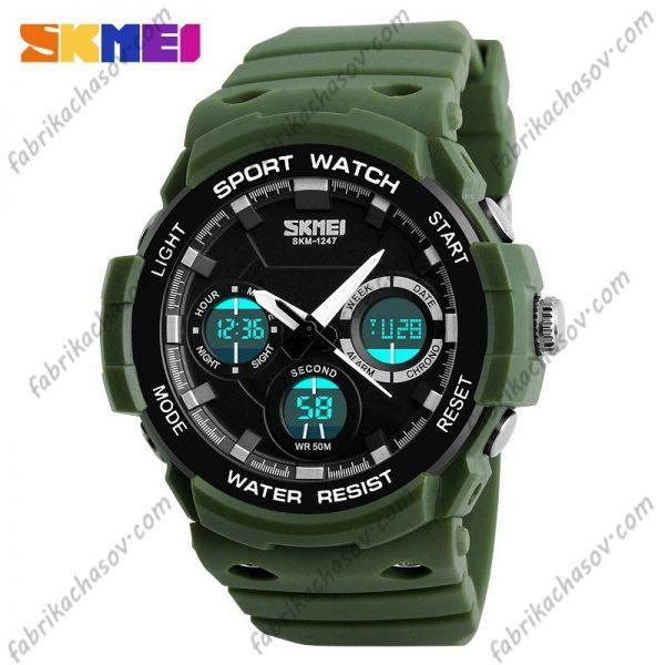 Часы Skmei 1247 Зеленые