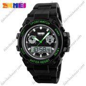 Часы Skmei 1217 Зеленые