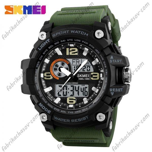 Часы Skmei 1283 Зеленые