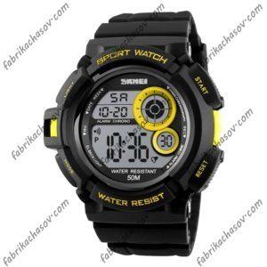 Часы Skmei 1222 Желтые
