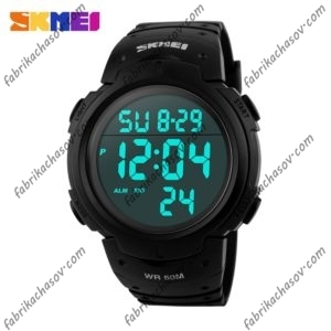 Часы Skmei 1068 Черные