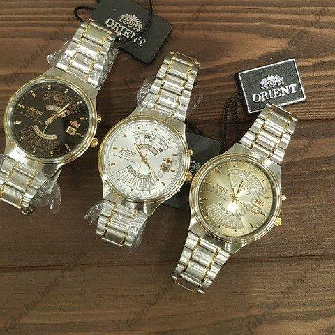 часы orient multi year calendar feu00000bw