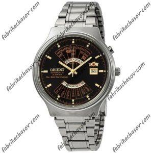 часы orient multi year calendar feu00002bw