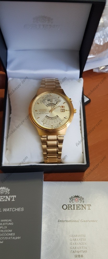 Часы ORIENT Multi Year Calendar FEU00008CW