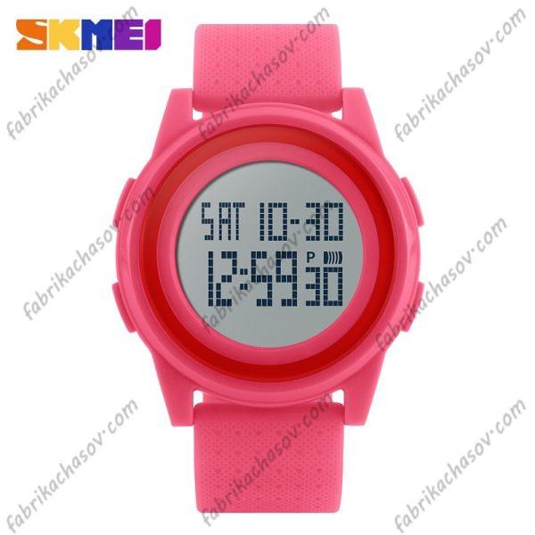 Часы Skmei 1206 Ультратонкие Розовые