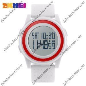 Часы Skmei 1206 Ультратонкие Белые