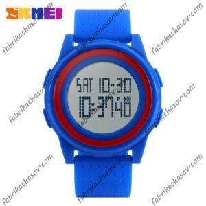 Часы Skmei 1206 Ультратонкие Синие