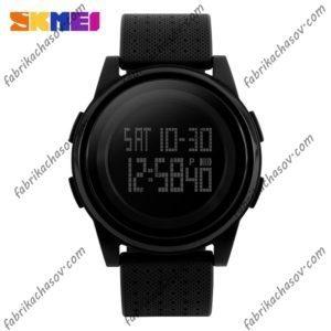 Часы Skmei 1206 Ультратонкие Черные