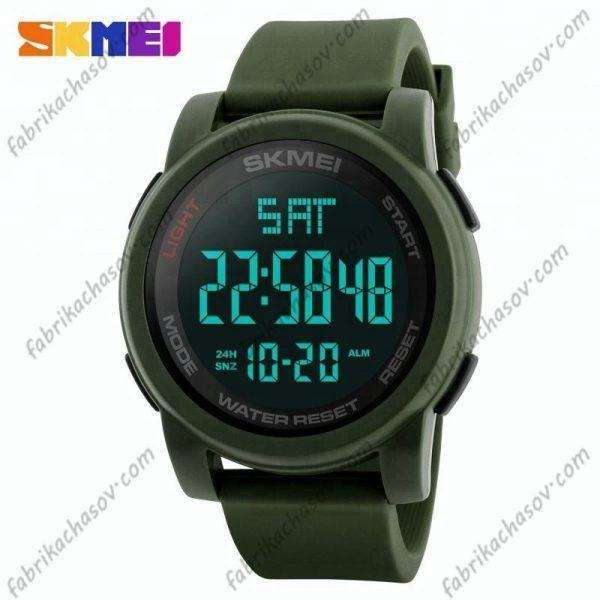 Часы Skmei 1257 Зеленые