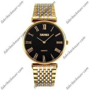 Мужские часы Skmei 9105 Золотистые