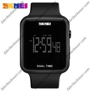 Часы Skmei 1271 Черные Dual Time