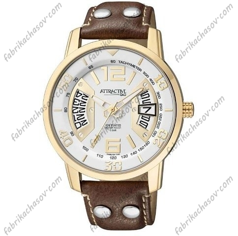 Мужские часы Q&Q ATTRACTIVE DA68J104Y