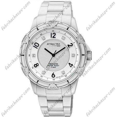 Женские часы Q&Q ATTRACTIVE DA57J001Y