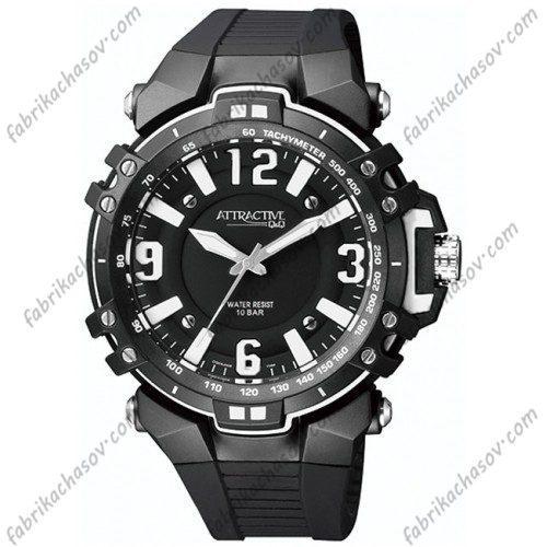 Мужские часы Q&Q ATTRACTIVE DG04J005Y