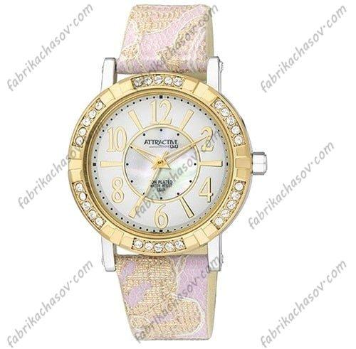 Женские часы Q&Q ATTRACTIVE DA59-124