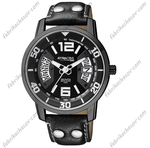 Мужские часы Q&Q ATTRACTIVE DA68J505Y