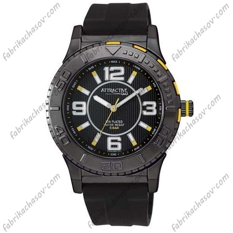 Мужские часы Q&Q ATTRACTIVE DA34J525Y