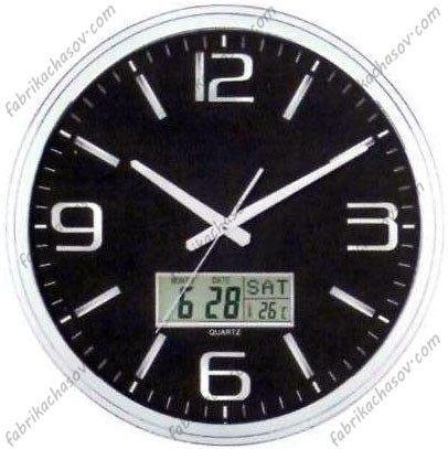 Настенные часы POWER 566BLKS