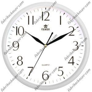 Настенные часы POWER 8172WKS