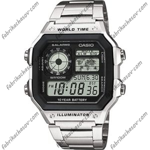 Часы Casio ILLUMINATOR AE-1200WHD-1AVEF