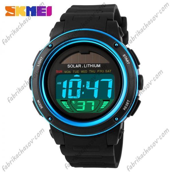 Часы Skmei 1096 голубые унисекс