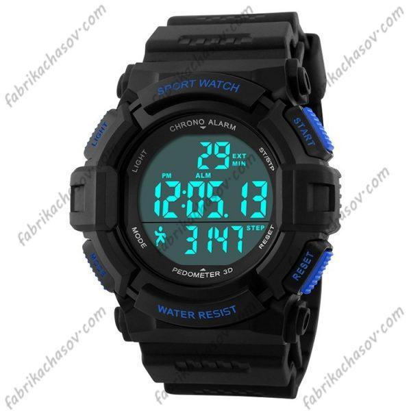 Часы Skmei 1116s синие спортивные шагомер