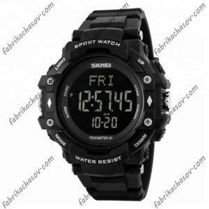 Часы Skmei 1180 черные спортивные
