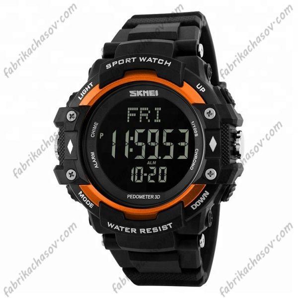 Часы Skmei 1180 оранж. спортивные