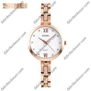 Часы Skmei 1225 золотые  женские