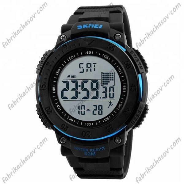 Часы Skmei 1238 синие спортивные шагомер