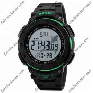 Часы Skmei 1238 зеленые спортивные шагомер