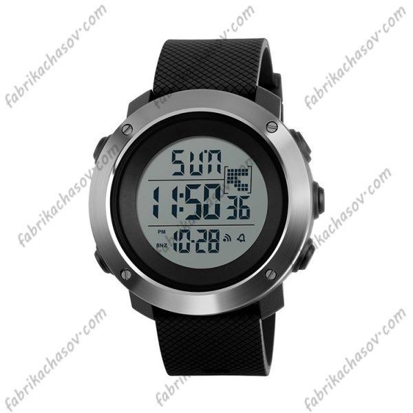 Часы Skmei 1267 черные спортивные