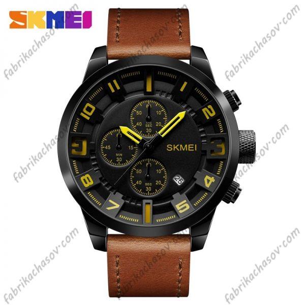 Часы Skmei 1309 коричневые спортивные