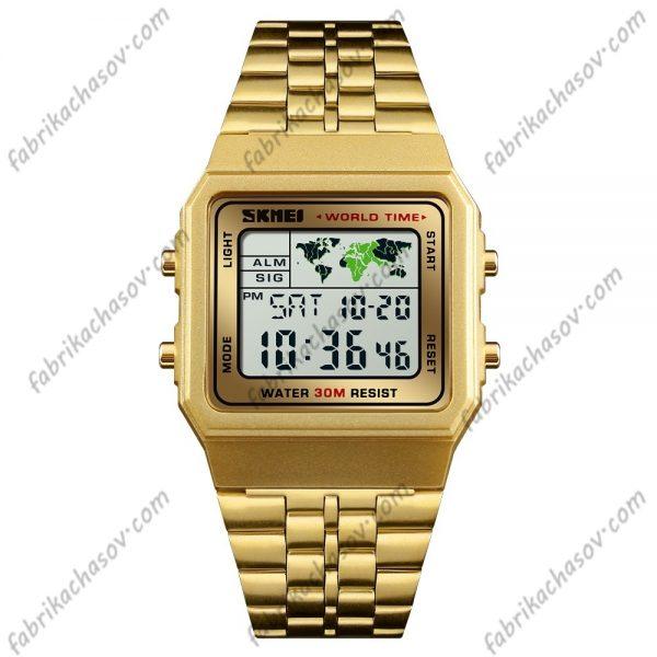 Часы Skmei 1338 zolotye