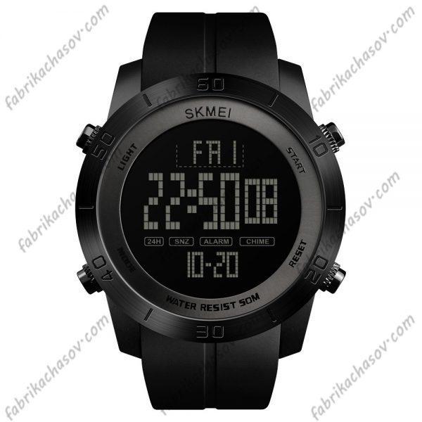 Часы Skmei 1353 черные спортивные