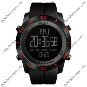 Часы Skmei 1353 красные спортивные