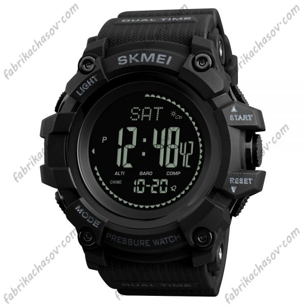 Часы Skmei 1358 черные спортивные