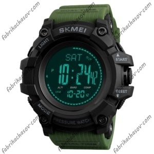 Часы Skmei 1358 зеленые спортивные