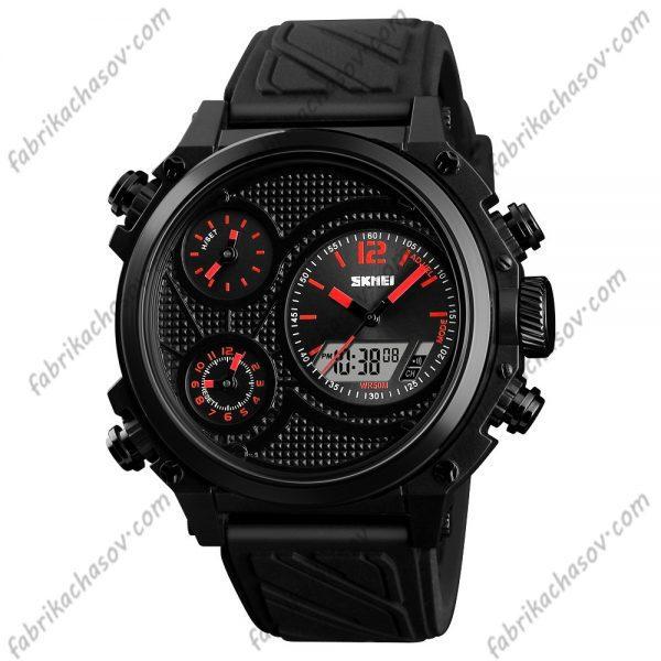 Часы Skmei 1359 красные с двойным механизмом