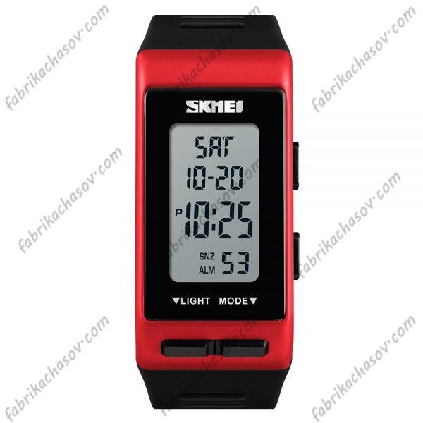 Часы Skmei 1362 красные спортивные